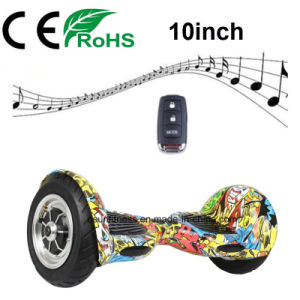 2018 Newest 10 Inch Self Balance Electric Hover Board for Adult pictures & photos