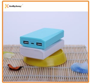 Two Output 6800mAh Mobile Power Bank with Power Indicator Light pictures & photos