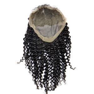 Brazilian Virign Hair Full Lace Wigs (12Inch-Kinky Straight) pictures & photos