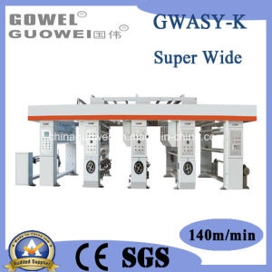 Ultra-Width Special Computer Gravure Printing Machine (GWASY-K) pictures & photos