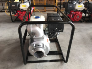4 Inch Water Pump with Gasoline Engine Fshwp100 pictures & photos