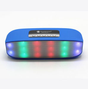 2016 New Style Newrixing Disco Music Mini Bluetooth Speaker with LED Light High Quality Sounds pictures & photos