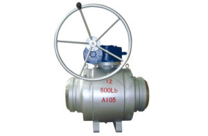 Worm Gear Fully Welded Trunion Ball Valve