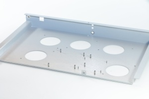 Computer Hardware Accessories Aluminum Plate Made by Stamping&Brushing pictures & photos