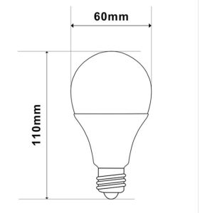 A60 6W 480lm LED Bulb Lamp (CE RoHS SAA TUV) pictures & photos