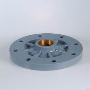 UPVC Copper Threaded Blind Flange pictures & photos