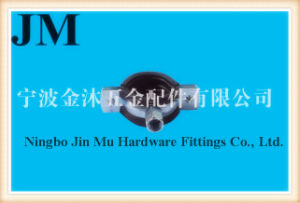 33 mm - 36 mm Diameter Galvanized Rubber Pipe Clamps 1 Inch Size FCC / SGS pictures & photos