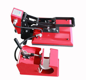 2 in 1 Combo Sublimation Heat Press Machine for T-Shirt Mug Printing
