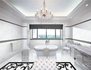 Stock Special Ceramic Polished Tiles for Bathroom Wall pictures & photos