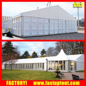 Aluminum Frame Glass ABS Wall Fancy Wedding Marquee Tent 500m2 pictures & photos