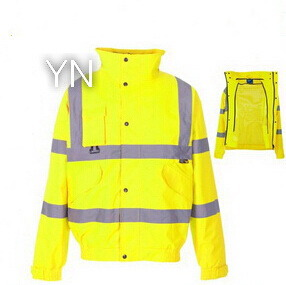 Yellow Mesh Reflective Jacket for Work pictures & photos