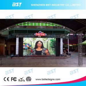 P4.81mm Super Thin Rental Indoor Full Color LED Video Wall pictures & photos