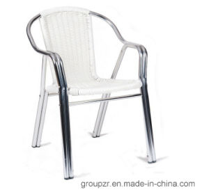 PE Rattan + Double Aluminium Tube Outdoor/Indoor Chair pictures & photos