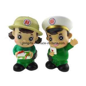 3D Fashionable PVC Doll for Kid