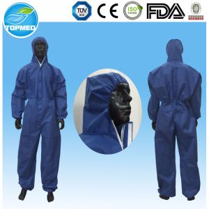 PP Two-Piece Workwear with One Use pictures & photos
