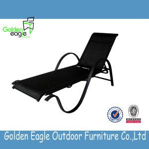 Wholesale Outdoor Aluminum Frame Sunlounger Rattan Sunlounger