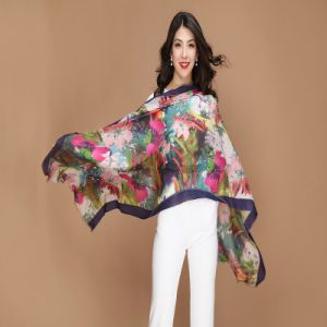 Fashion 100% Wool Shawl for Ladys for Women pictures & photos