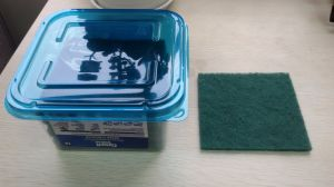 Microfiber Nylon Scouring Pads/Scouring Pad pictures & photos