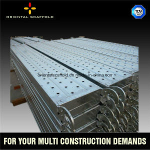 Scaffolding Steel Planks with Hooks pictures & photos