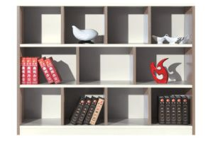 Ladder Shape Design Short Cabinet for The Office pictures & photos