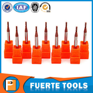 Four Flutes CNC Solid Carbide Router Bit for Metal Processing pictures & photos