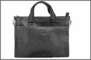 Lady′s Black PU Handbag pictures & photos