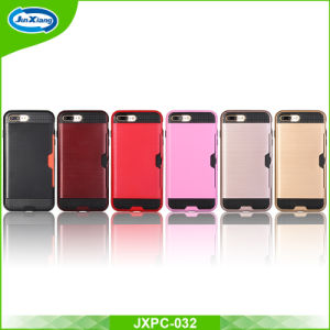 Popular 2 En 1 TPU PC Armor Shockproof Phone Cover for iPhone 7 Plus pictures & photos
