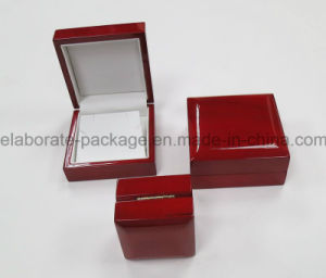 Luxury Mahogany Single Wooden Watch Pack Box pictures & photos