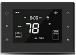 7-Day Programmable Tempered Glass Panel Capacitive Touch Buttons Multi Stage Thermostat pictures & photos