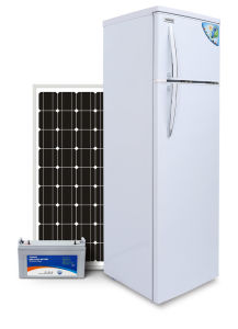 off Grid 12/24V DC Solar Refrigerator Fridge 42L/226L pictures & photos
