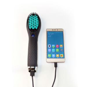 New Wireless Cordless Straightener Brush
