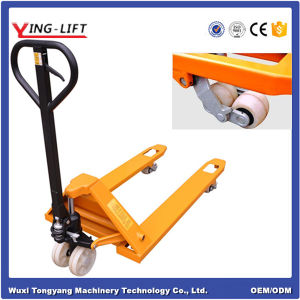 Economic Manual Hydraulic Hand Pallet Jack Truck pictures & photos