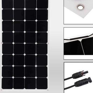 Solar Power 100watt Monocrystalline off-Grid PV Solar Panel pictures & photos