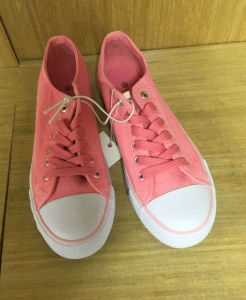 Fashion High-Top Shoes with Vulcanized Rubber Sole pictures & photos