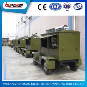 Cummins 30kw Automatic Portable Trailer Genset for Emergency Usage pictures & photos