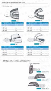 Stainless Steel Impression Trays pictures & photos