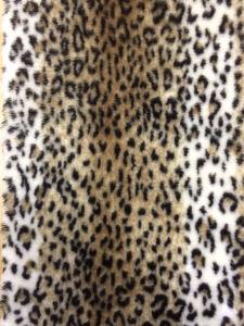 Leopard Printing Faux Fur