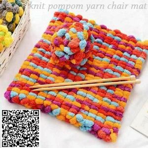 Hand Knit Car Seat Mat Dog Blanket Rug Buggy Stoller pictures & photos