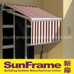 Aluminium Retractable Awning with Valance pictures & photos
