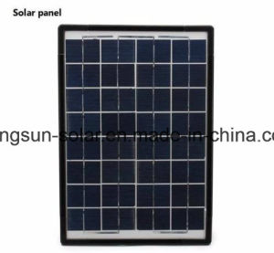 10W Lithium Battery Solar Power Lighting System Panel Kit Bank Charger Portable pictures & photos