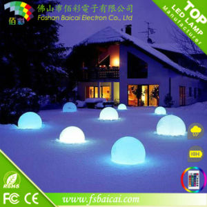 Remote Control Color Changing LED Ball Garden Plastic Ball pictures & photos