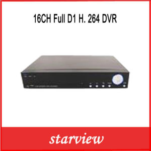 16CH Full D1 H. 264 DVR pictures & photos