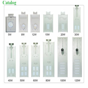 All in One Design 8W Solar LED Street Light for Garden pictures & photos