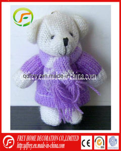 Mini Cute Plush Teddy Bear Keychain Toy pictures & photos