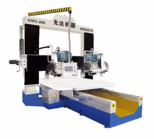 Scnfx-2800 Lifting Type Gantry CNC Profiling Machine with Four Blades pictures & photos