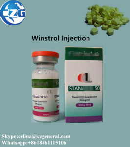 Anabolic Steroids Pills & Oil Stanzol Winstrol Suspension for Muscle Gaining pictures & photos