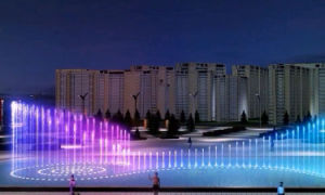 Factory Design and Mamufacture LED Light Music Dancing Fountain pictures & photos