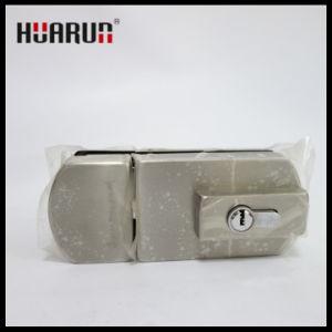 Foshan satin finish stainless steel glass door lock (HR-1174/1175) pictures & photos