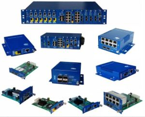 Bladed Managed Chassis Media Converter Optical Fiber Media Converter pictures & photos