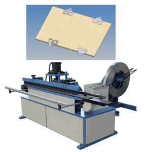 Automatic Collapsible Plywood Box Making Steel Buckle Machine pictures & photos